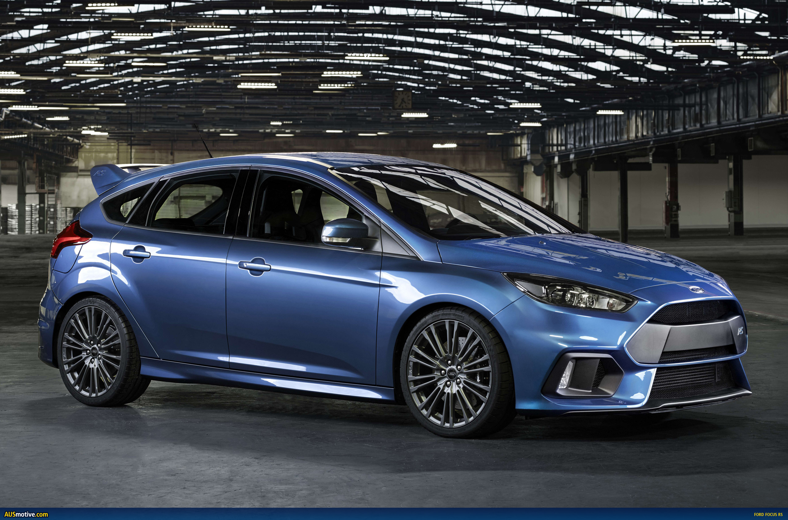 Ford has given us a preview of its third generation focus rs it goes