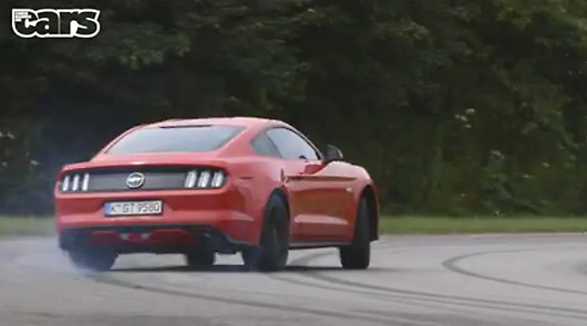 Chris Harris drives the Ford Mustang GT