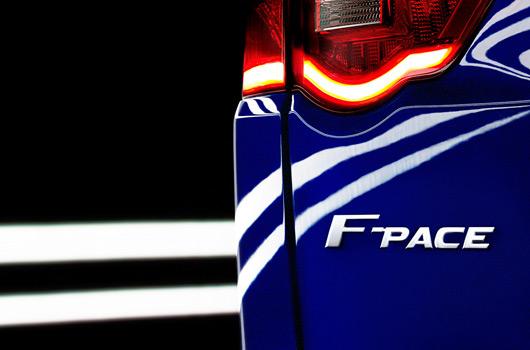 Jaguar F-Pace bdage