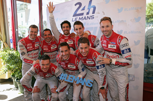 2015 24 Hours of Le Mans, Audi preview