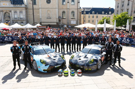 2015 24 Hours of Le Mans, Porsche preview