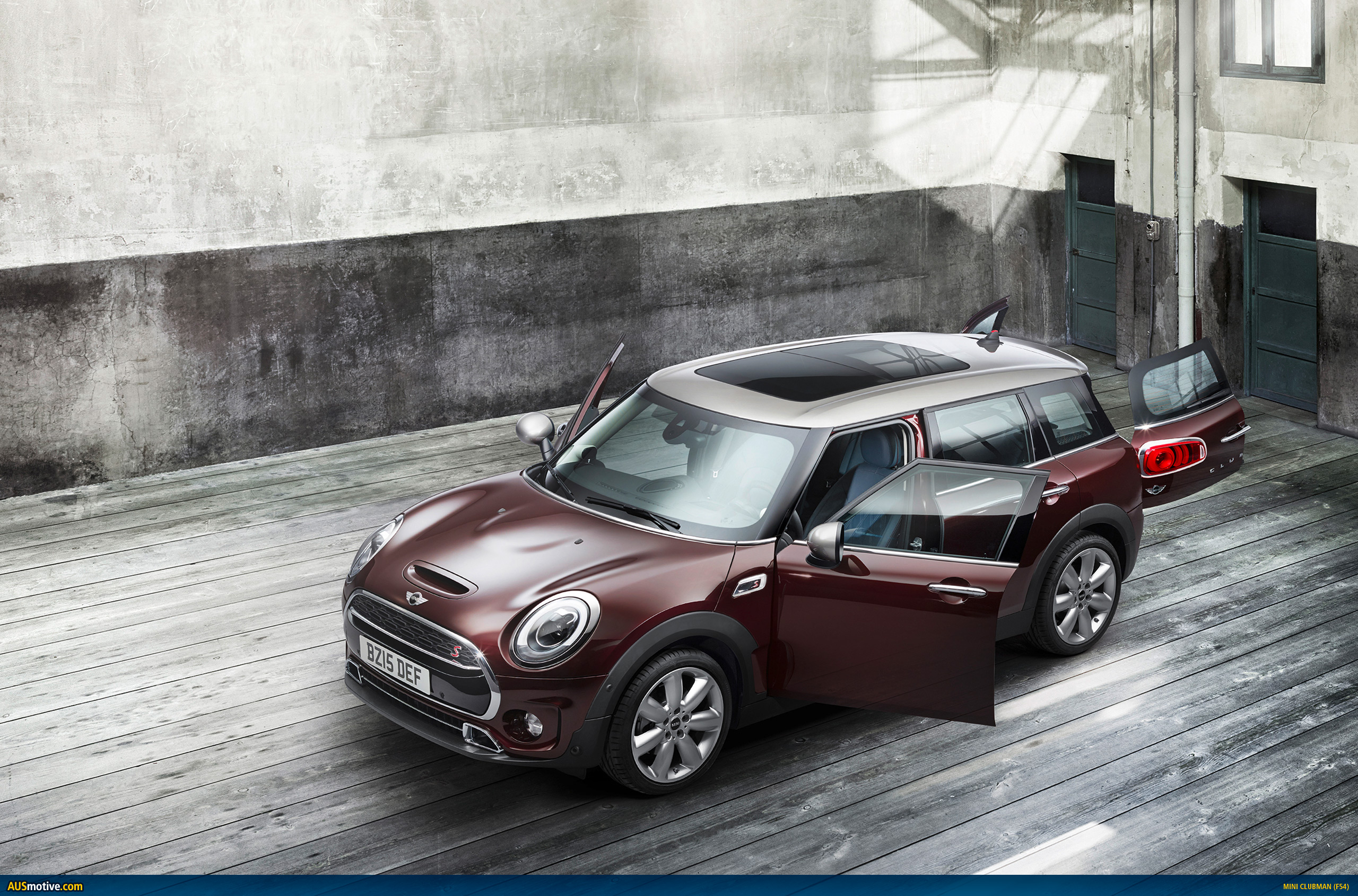 2016 mini clubman revealed. Black Bedroom Furniture Sets. Home Design Ideas