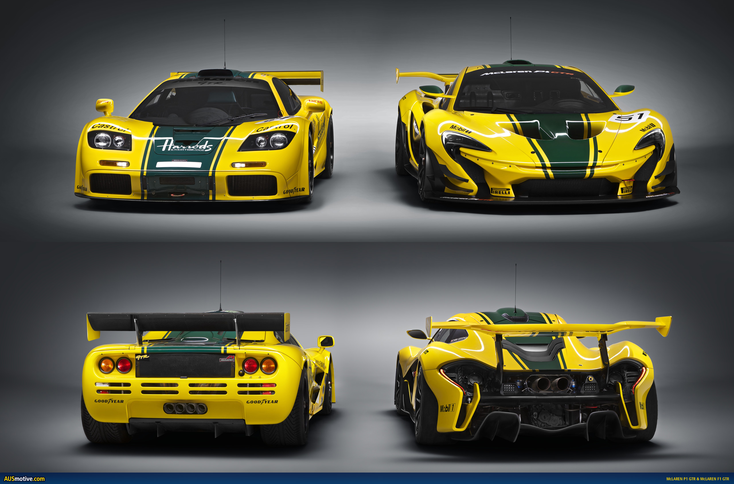 mclaren p1 gtr revealed. Black Bedroom Furniture Sets. Home Design Ideas