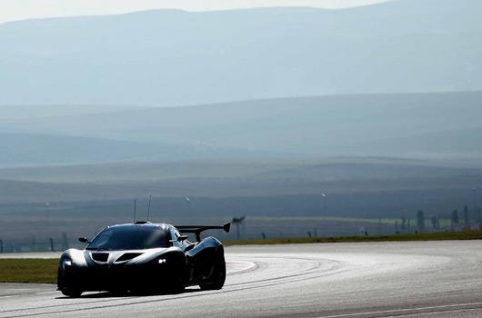 McLaren P1 GTR in testing