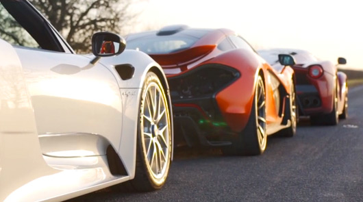 Pail Bailey's dream hypercar fleet