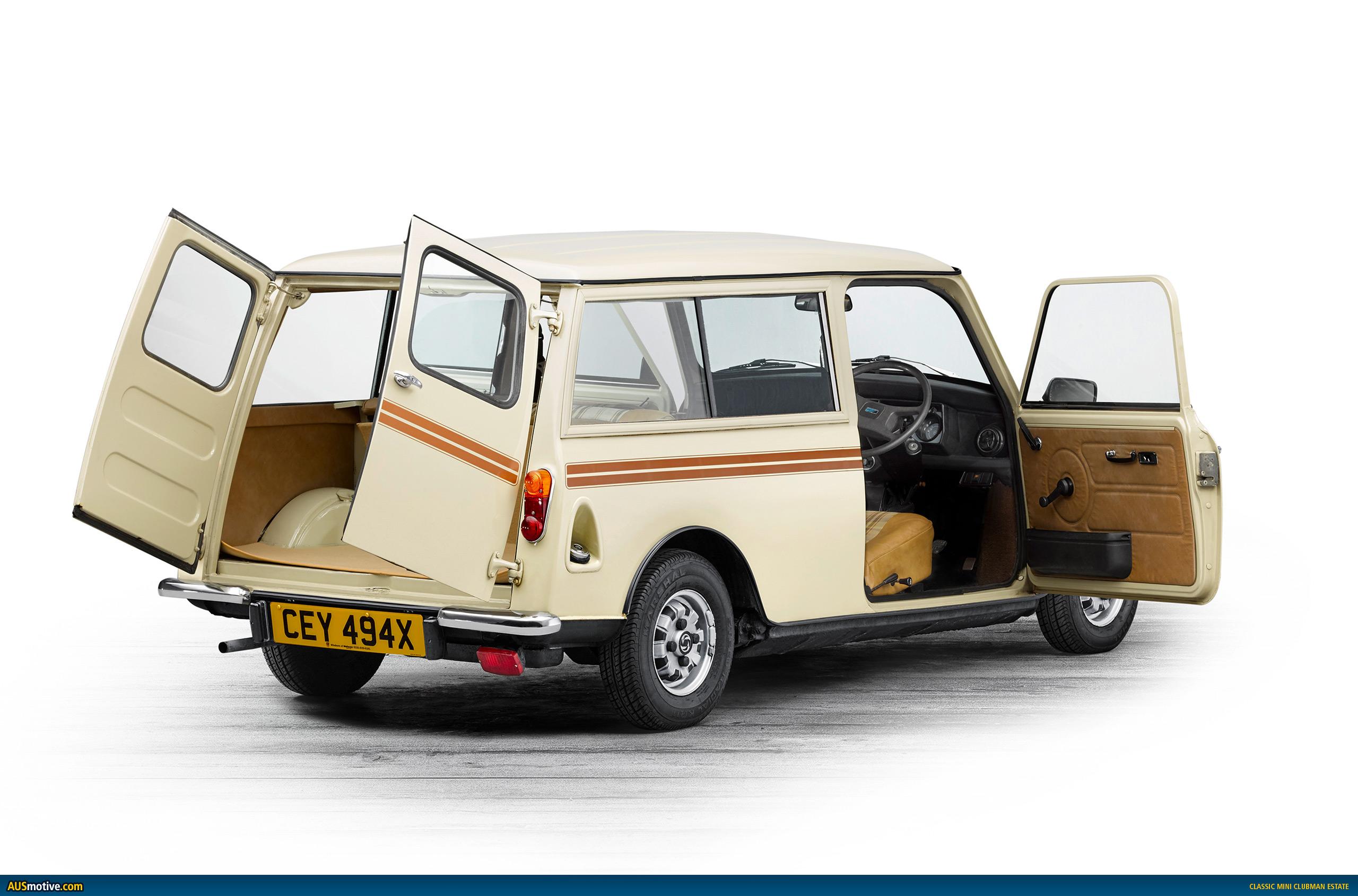 Ausmotivecom Classic Mini Clubman Estate Wallpapers