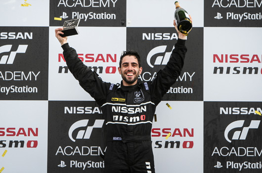 Matthew Simmons, 2015 GT Academy winner
