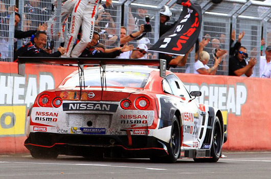 Nissan GTR GTR wins 2015 Bathurst 12 Hour