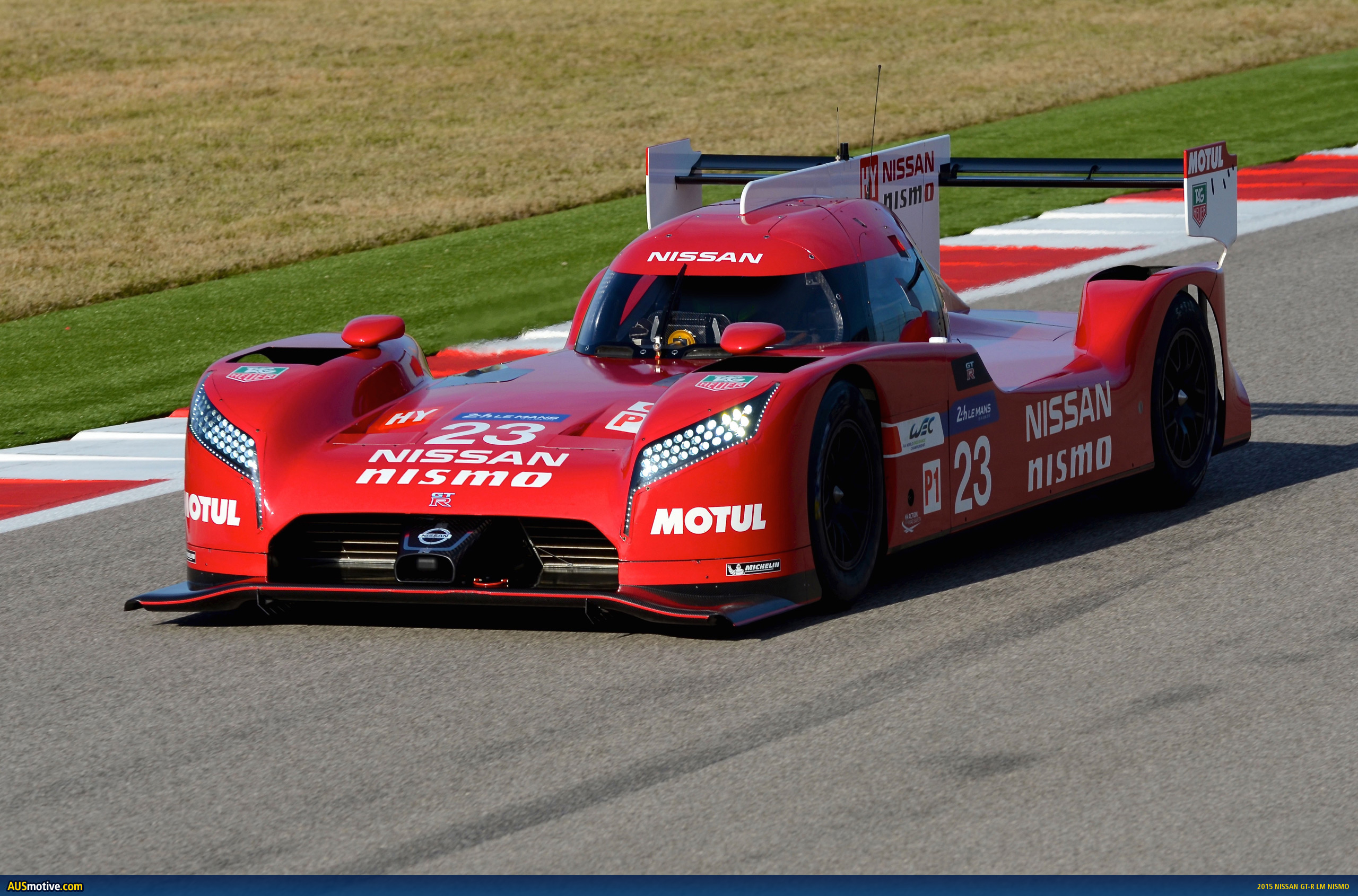 AUSmotive.com » 2015 Nissan GT-R LM Nismo revealed