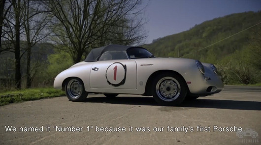 Family First, Porsche 356 feature