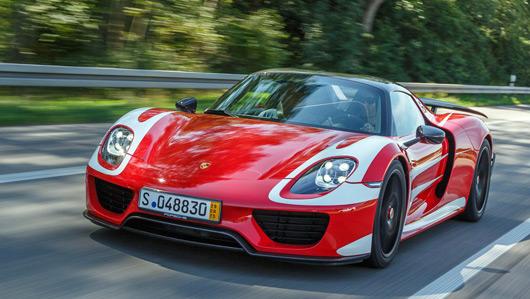 Mark Webber's Porsche 918 Spyder