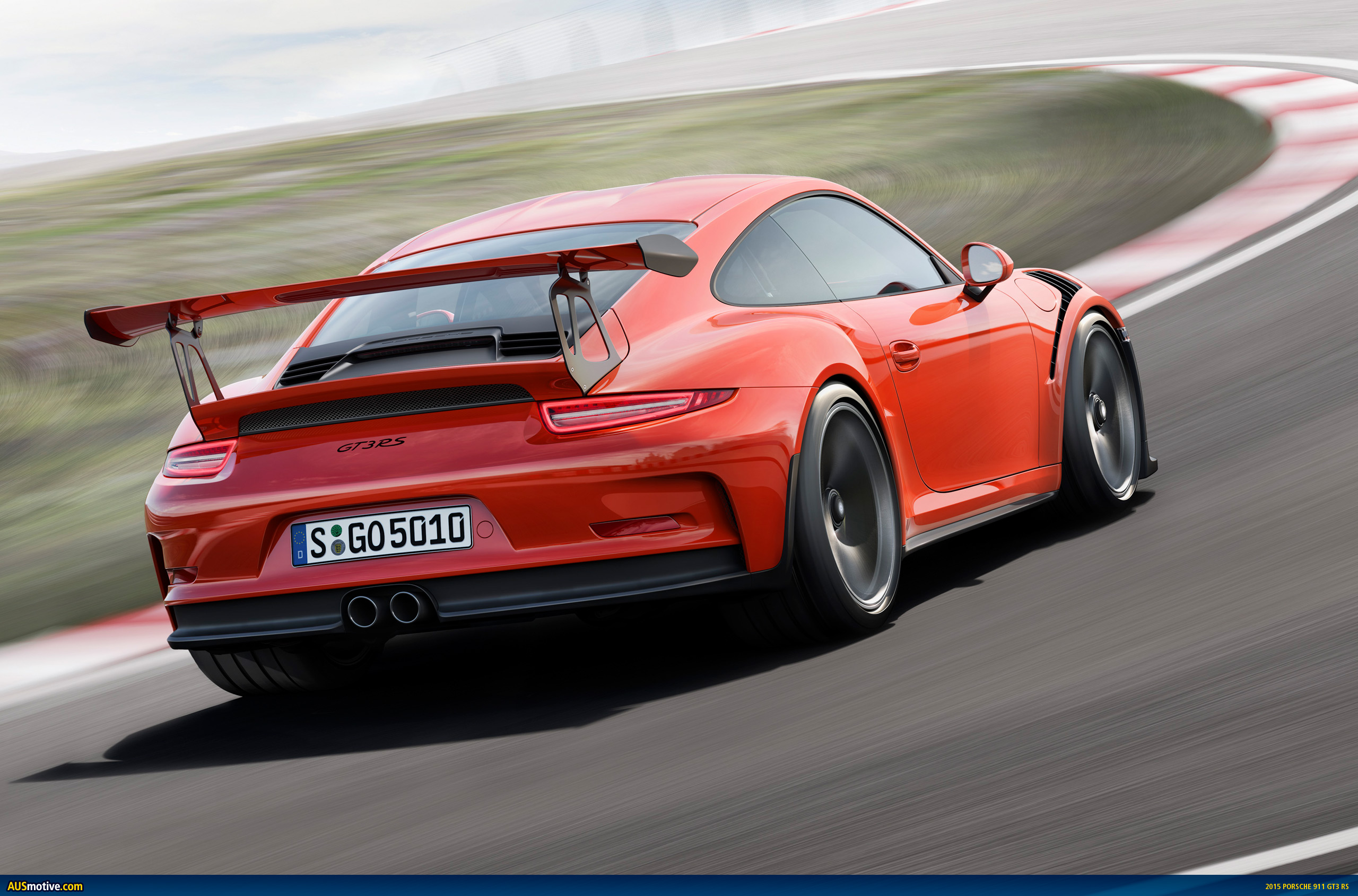 Ausmotive Com 187 2015 Porsche 911 Gt3 Rs Revealed