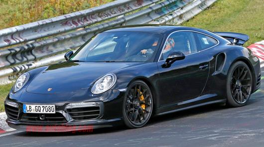 991.2 Porsche 911 Turbo spied