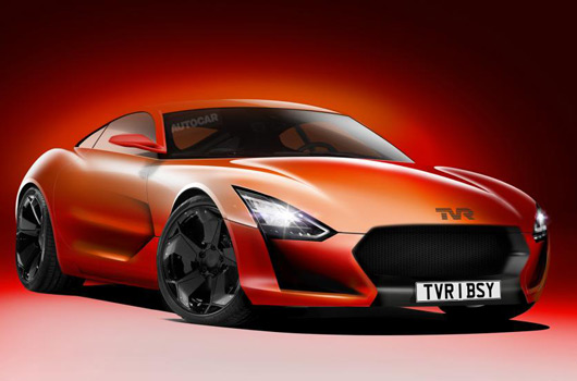 TVR relaunch rendering