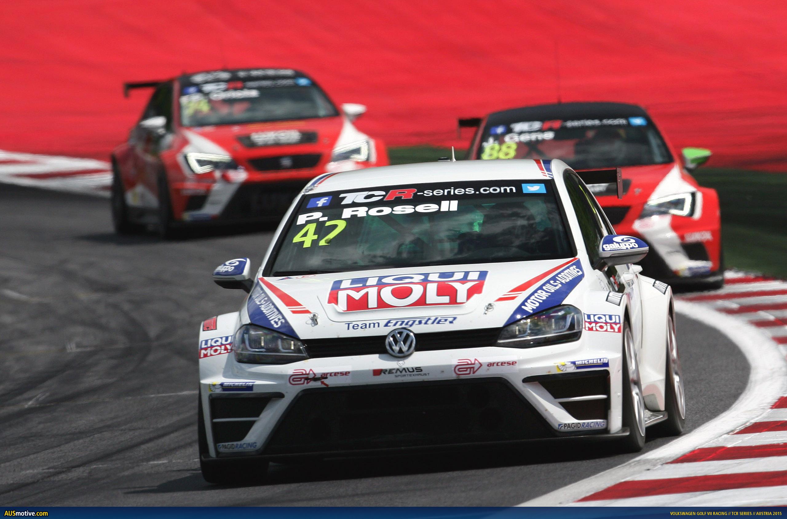 Ausmotive Com 187 Volkswagen Golf Racing Wins On Tcr Debut