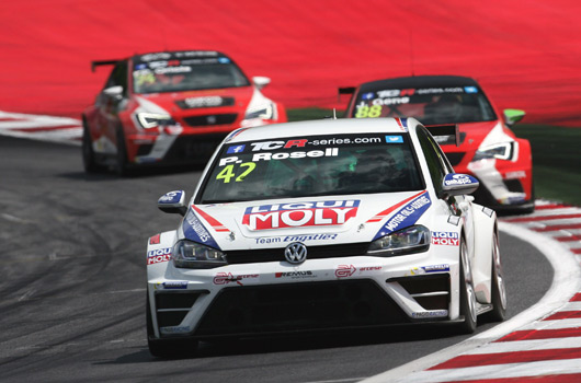 Pol Rosell, Volkswagen Golf Racing, TCR Series, Austria 2015