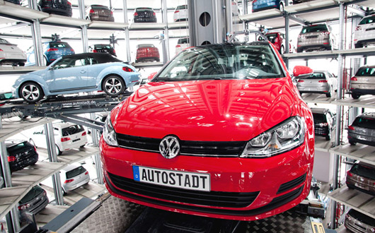 Volkswagen's Autostadt, Wolfsburg, Germany