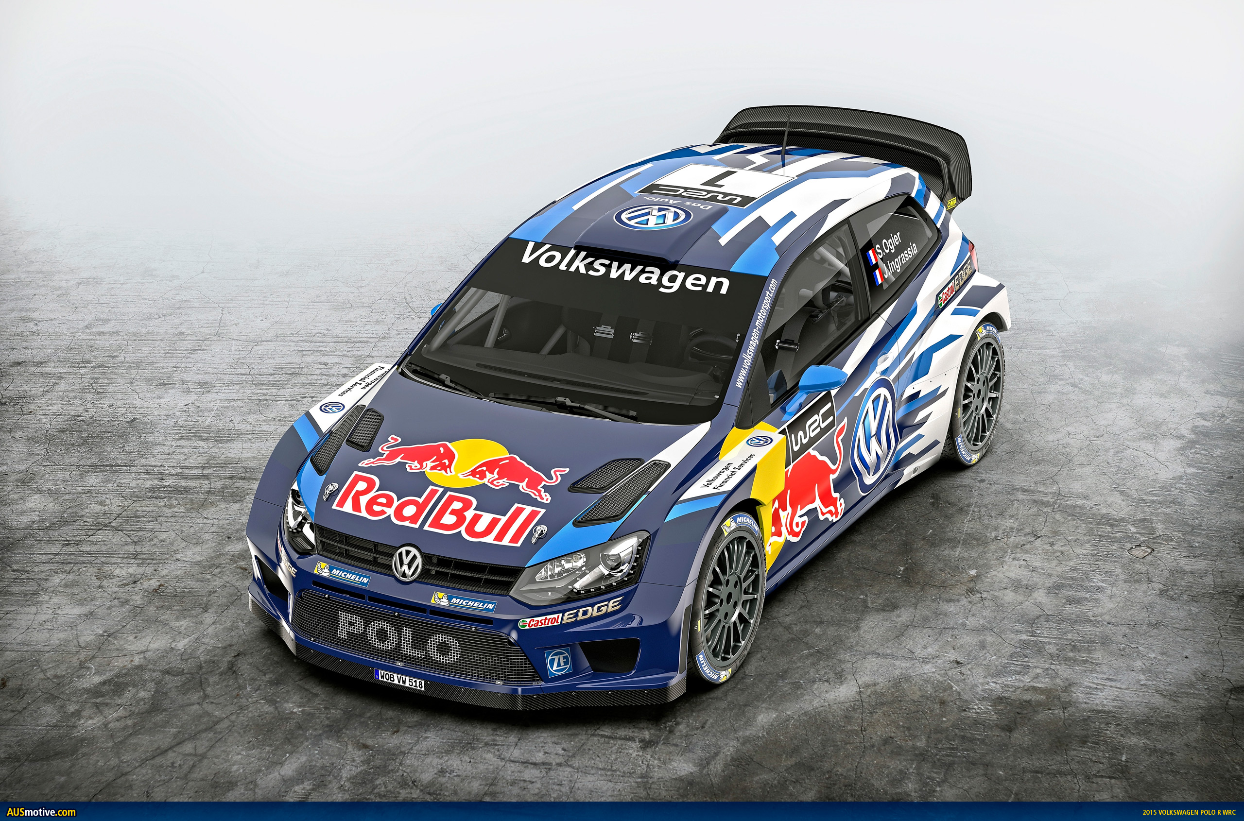 volkswagen unveils 2015 polo r wrc. Black Bedroom Furniture Sets. Home Design Ideas