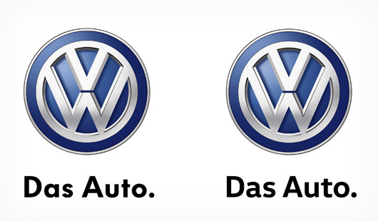 New Volkswagen typefaces, May 2015