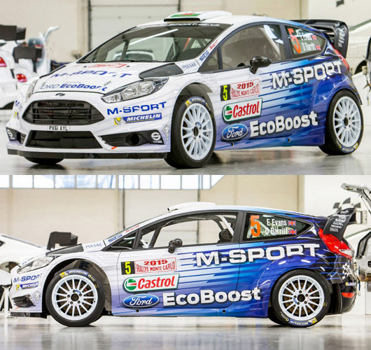 2015 M-Sport Ford Fiesta RS WRC