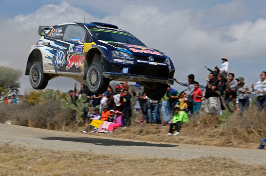 Sebastien Ogier wins 2015 Rally Mexico