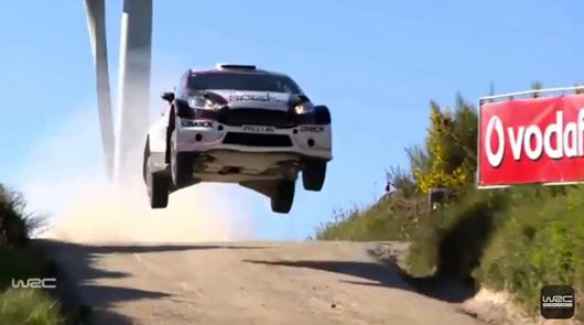 Jari Ketmoaa, Ford Fiesta RS WRC, Rally Portugal