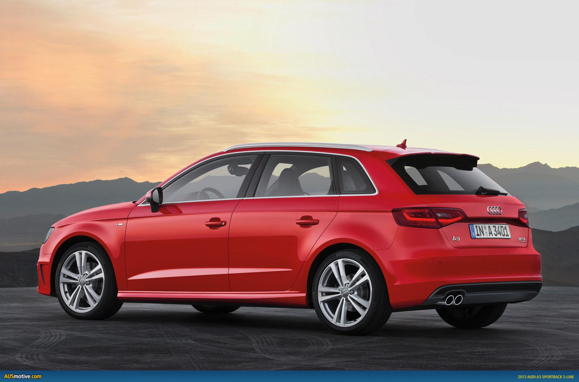 AUSmotive.com » 2013 Audi A3 Sportback revealed
