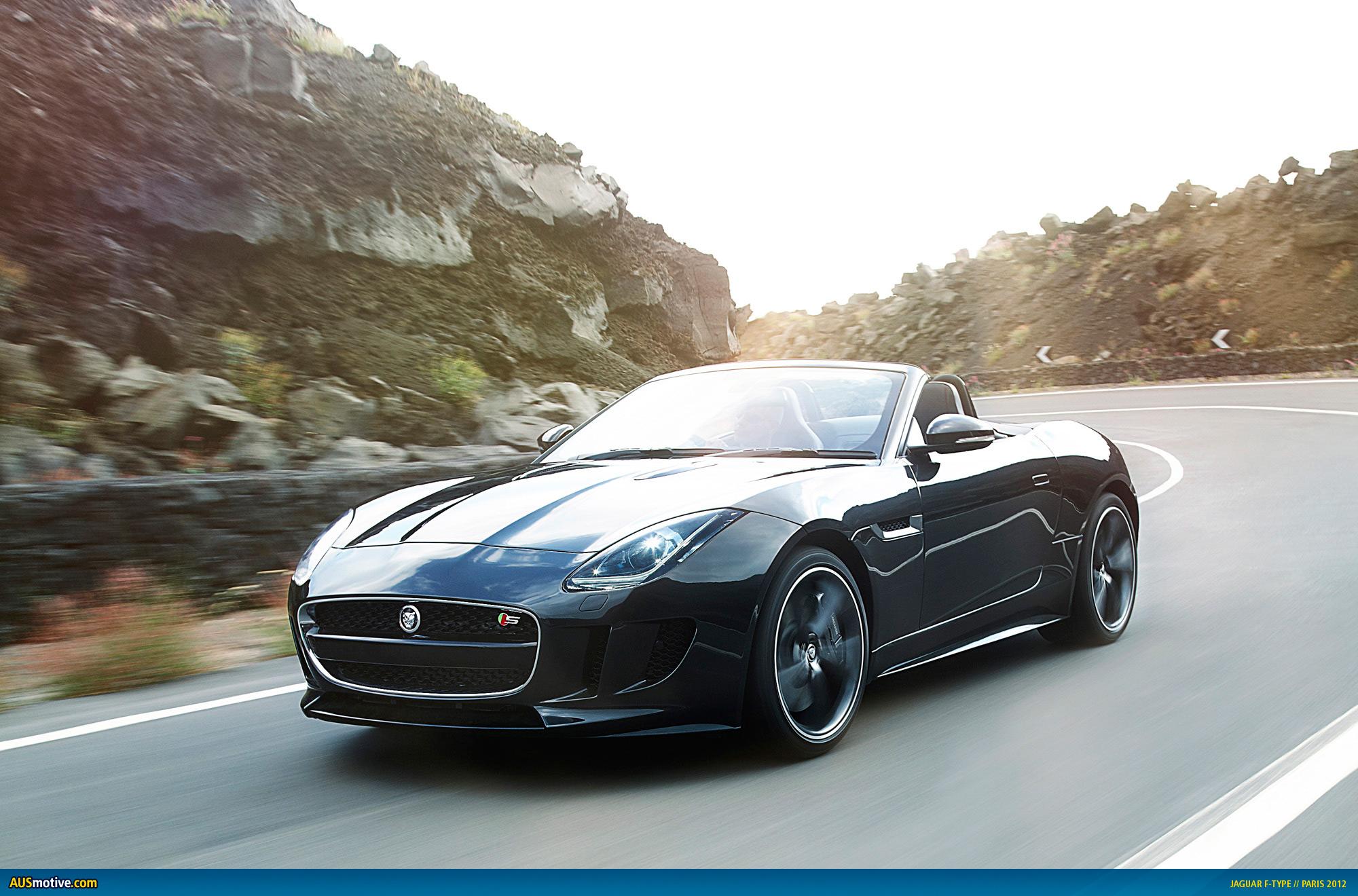 AUSmotive.com » Paris 2012: Jaguar F-Type