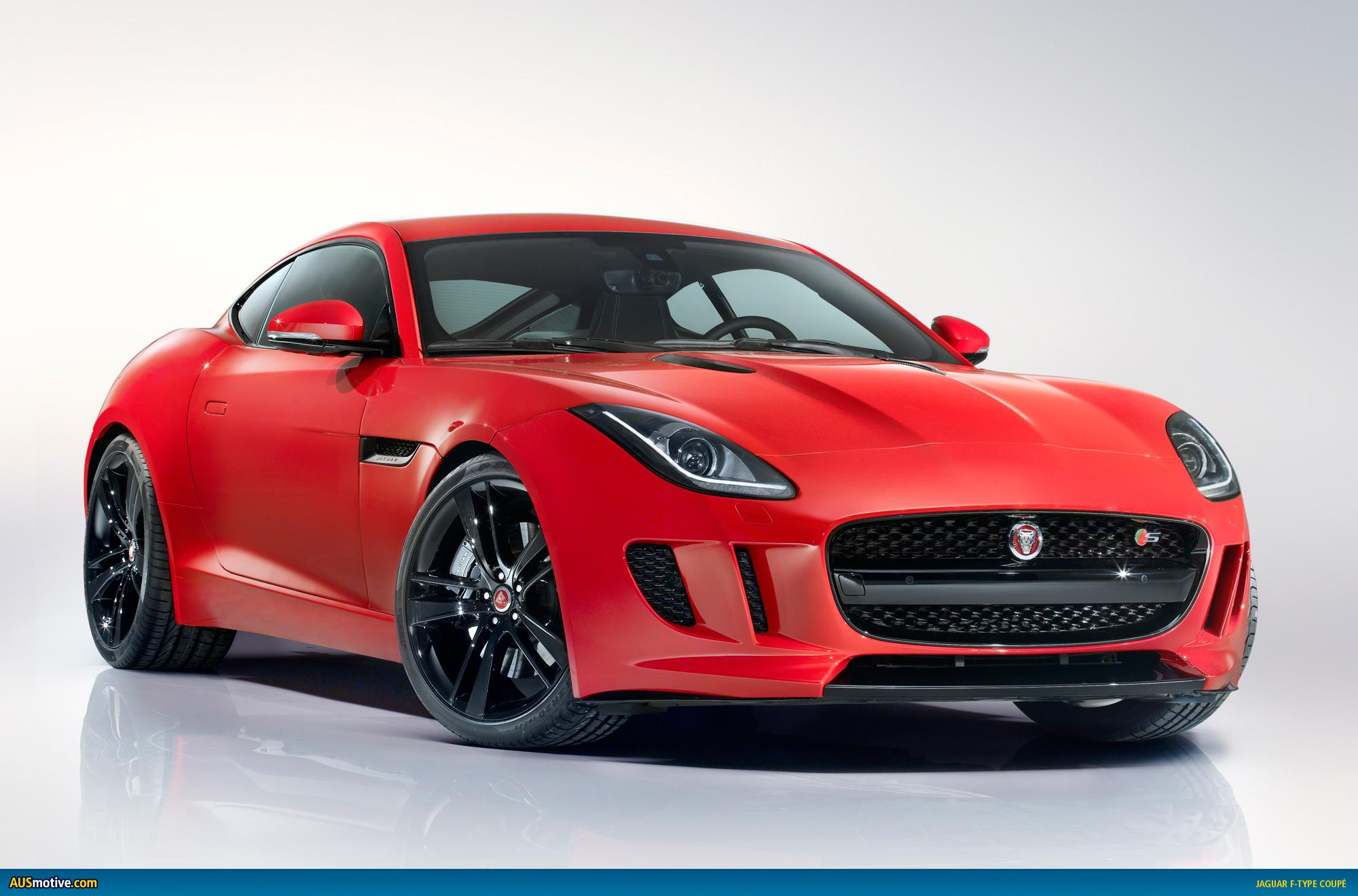 AUSmotive.com » LA 2013: Jaguar F-Type Coupé revealed